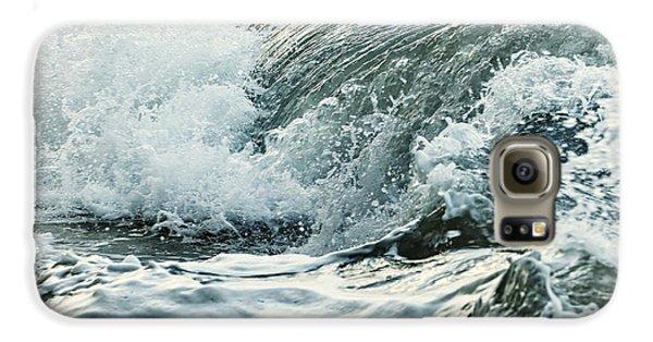 Waves In Stormy Ocean Galaxy S6 Case
