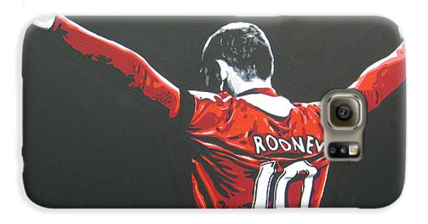 Wayne Rooney - Manchester United Fc 2 Galaxy S6 Case by Geo Thomson