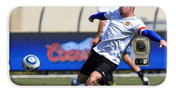 Wayne Rooney Galaxy S6 Case by Keith R Crowley
