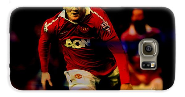 Wayne Rooney Galaxy S6 Case by Marvin Blaine