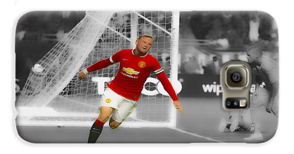 Wayne Rooney Scores Again Galaxy S6 Case by Brian Reaves