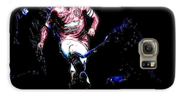 Wayne Rooney Working Magic Galaxy S6 Case