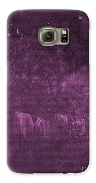 Orchid Galaxy S6 Case - We Are Royal by Linda Woods