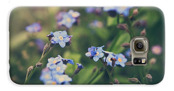 Garden Galaxy S6 Case - We Lay With The Flowers by Laurie Search