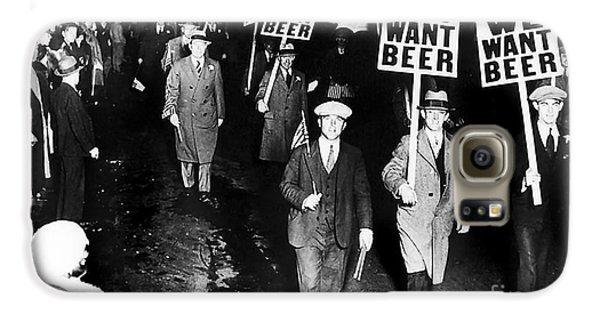 We Want Beer Galaxy S6 Case by Jon Neidert