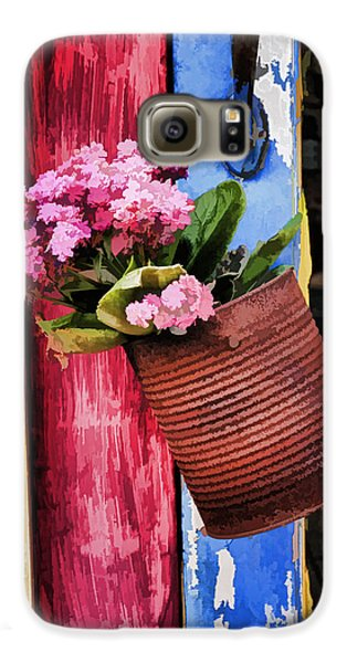 Welcoming Flowers Galaxy S6 Case