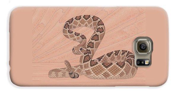 Western Diamondback Rattlesnake Galaxy S6 Case