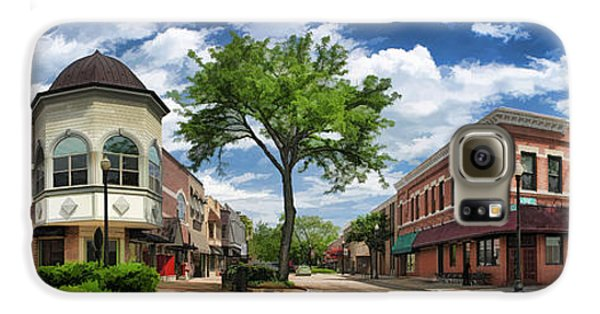 Wheaton Front Street Panorama Galaxy S6 Case