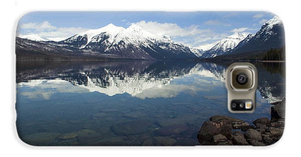 When The Sun Shines On Glacier National Park Galaxy S6 Case