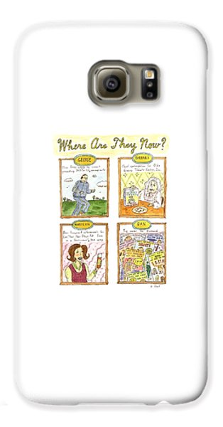 George Bush Galaxy S6 Case - Where Are They Now? by Roz Chast