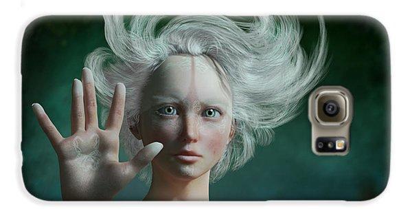 Elf Galaxy S6 Case - White Faun by Britta Glodde