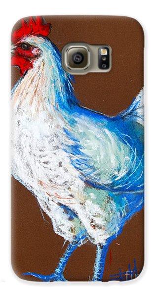 White Hen Galaxy S6 Case by Mona Edulesco