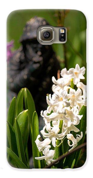 White Hyacinth In The Garden Galaxy S6 Case by  Onyonet  Photo Studios