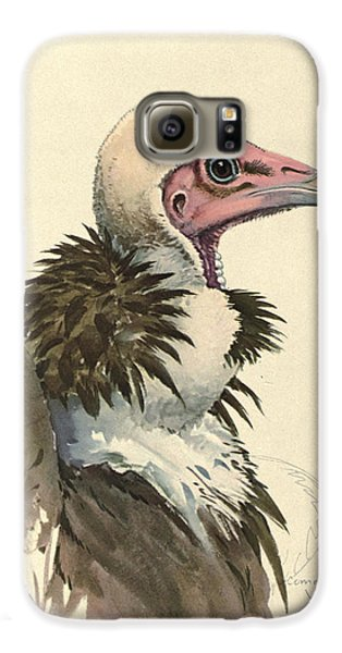 Vulture Galaxy S6 Case - White Necked Vulture by Dreyer Wildlife Print Collections