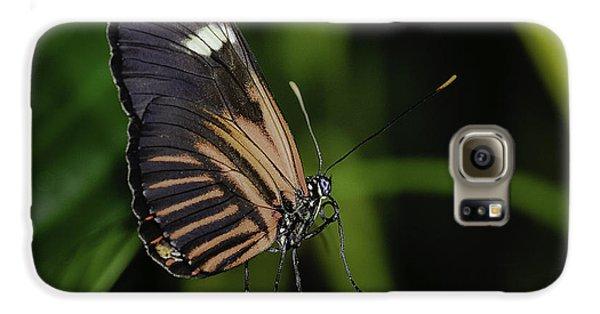 White On Black Galaxy S6 Case