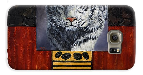 White Tiger Galaxy S6 Case