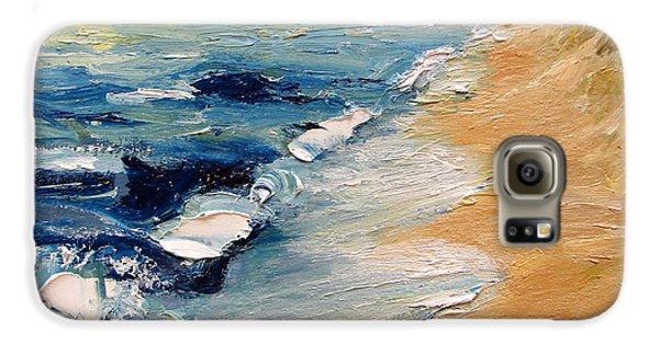 Whitecaps On Lake Michigan 3.0 Galaxy S6 Case