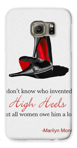 Who Invented High Heels? Galaxy S6 Case