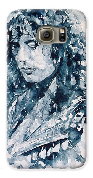Whole Lotta Love Jimmy Page Galaxy S6 Case by Paul Lovering
