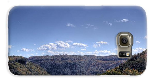 Wide Shot Of Tree Covered Hills Galaxy S6 Case