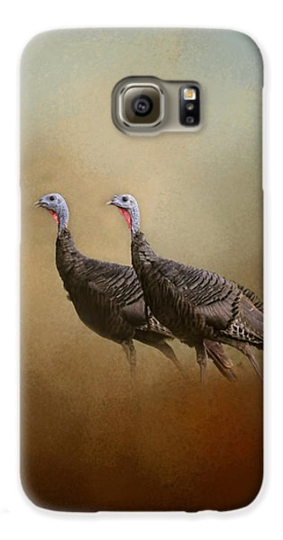 Wild Turkey At Shiloh Galaxy S6 Case by Jai Johnson