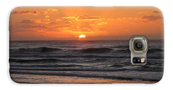 Wildwood Beach Here Comes The Sun Galaxy S6 Case