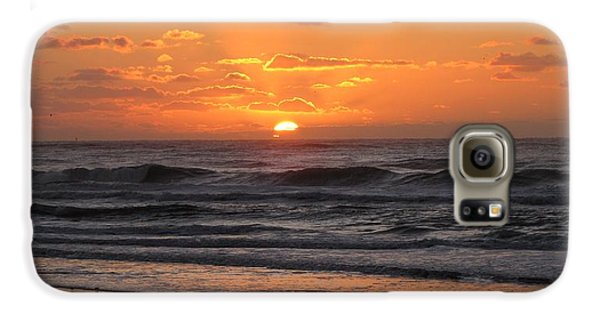 Wildwood Beach Here Comes The Sun Galaxy S6 Case by David Dehner
