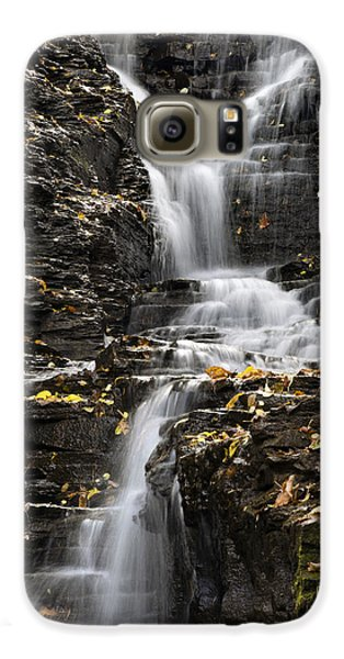 Winding Waterfall Galaxy S6 Case by Christina Rollo