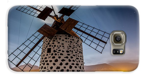 Canary Galaxy S6 Case - Windmill by Martin Zalba