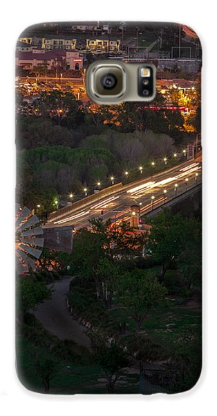 Windmill Over Niblick Bridge Galaxy S6 Case