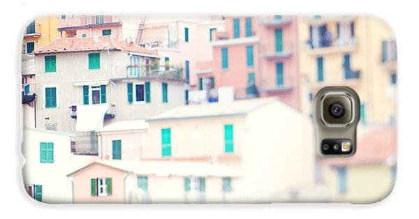 Windows Of Cinque Terre Italy Galaxy S6 Case by Kim Fearheiley