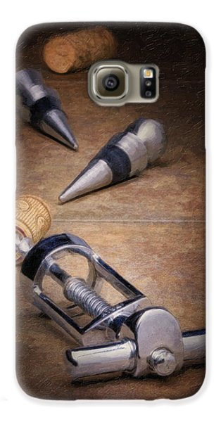 Wine Galaxy S6 Case - Wine Accessory Still Life by Tom Mc Nemar