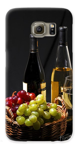 Wine And Grapes Galaxy S6 Case