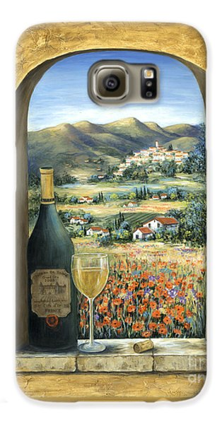 Cocktails Galaxy S6 Case - Wine And Poppies by Marilyn Dunlap