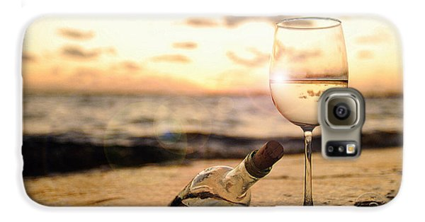 Wine And Sunset Galaxy S6 Case