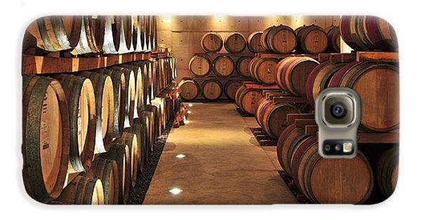 Wine Barrels Galaxy S6 Case