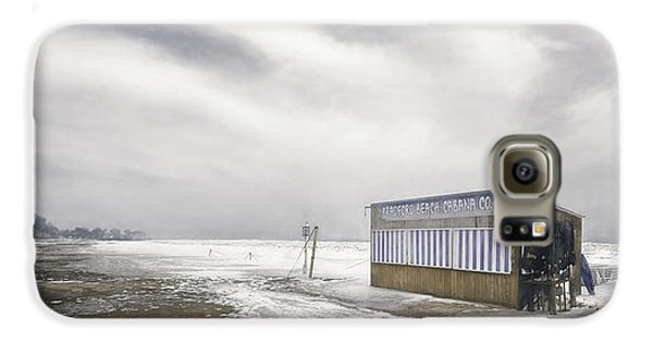 Winter At The Cabana Galaxy S6 Case by Scott Norris