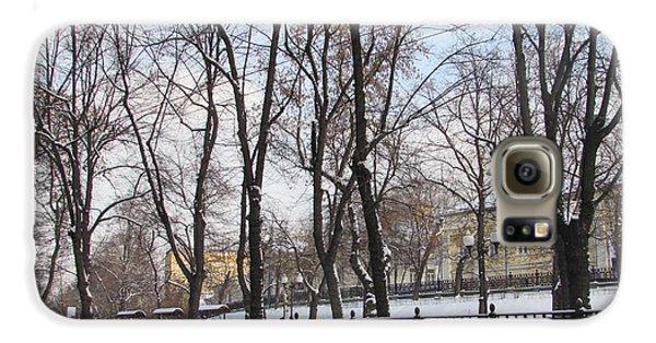 Winter Boulevard Galaxy S6 Case by Anna Yurasovsky