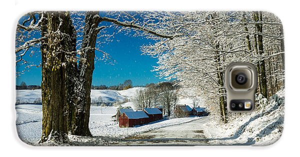 Winter In Vermont Galaxy S6 Case