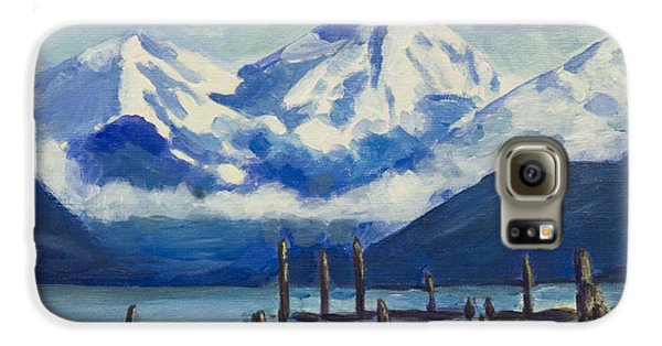 Winter Mountains Alaska Galaxy S6 Case