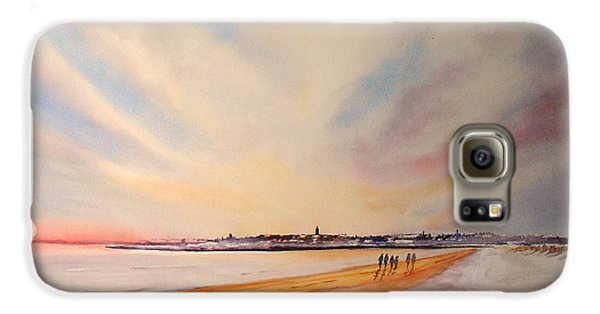 Winter On St Andrews Scotland Galaxy S6 Case
