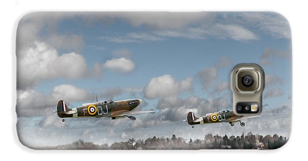 Winter Ops Spitfires Galaxy S6 Case by Gary Eason