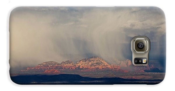 Winter Storm Approaches Sedona Galaxy S6 Case