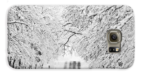 Galaxy S6 Case featuring the photograph Winter Wonderland by Ricky L Jones