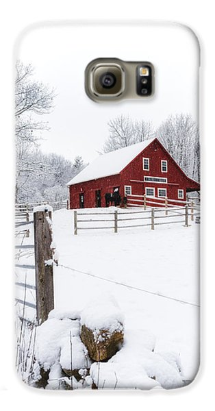 Winter's Morning Galaxy S6 Case