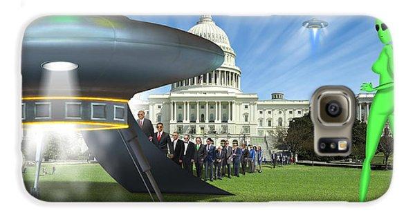 Wip - Washington Field Trip Galaxy S6 Case by Mike McGlothlen