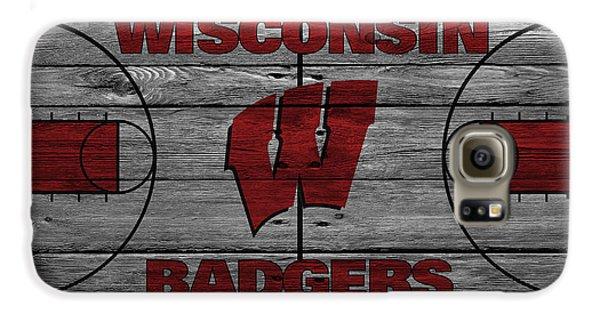 Wisconsin Badger Galaxy S6 Case by Joe Hamilton