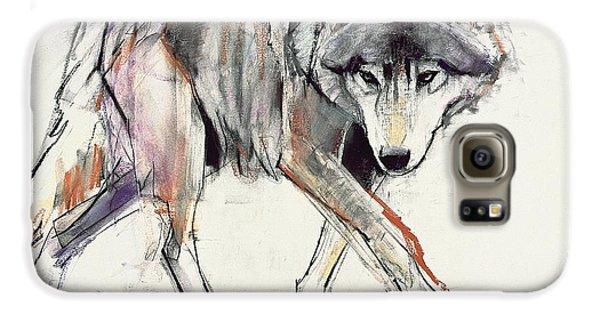 Wolf  Galaxy S6 Case by Mark Adlington