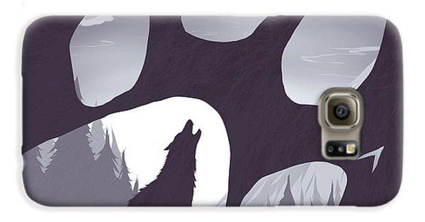 Wolf Paw Galaxy S6 Case