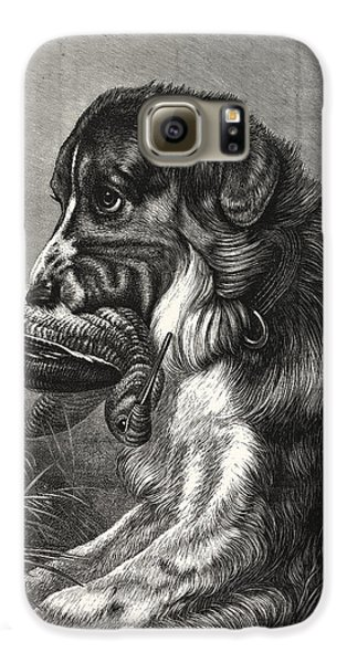 Woodcock-shooting, Hunt, Hunting, Dog Galaxy S6 Case by English School